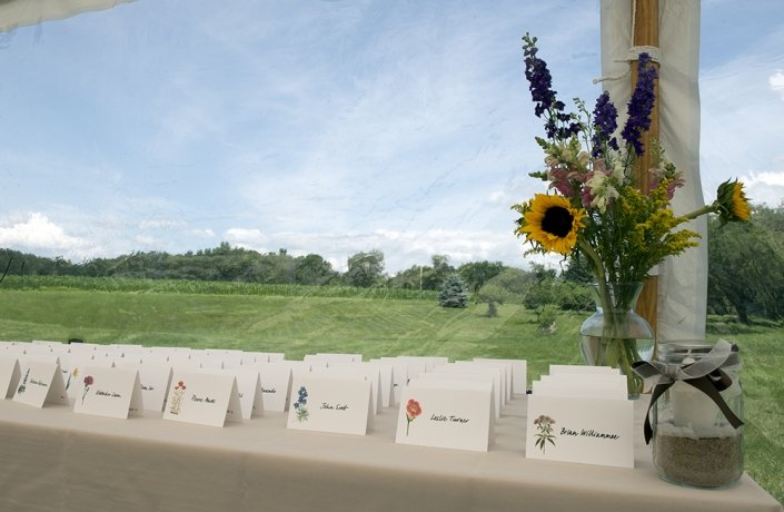 wedding placecards