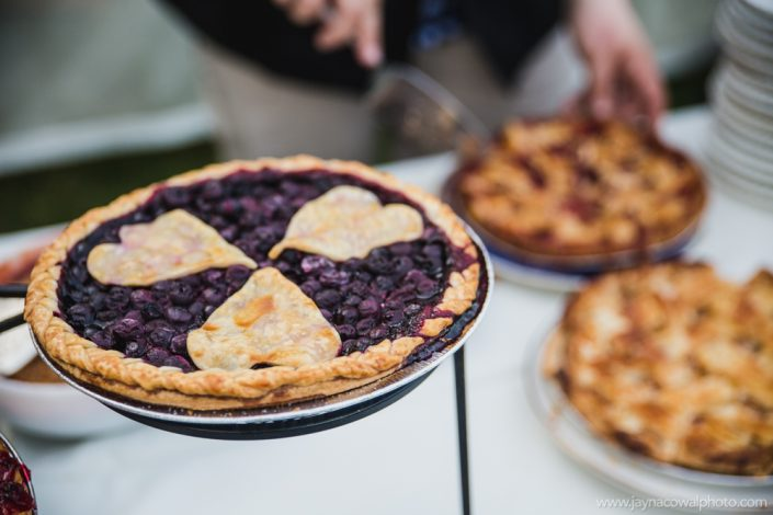 Homemade Pies for Weddings, Central MA