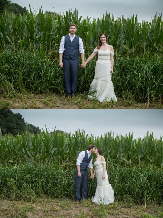 August Cornfield Couple