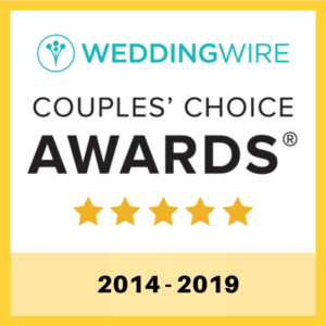 Wedding Wire Award 2014 - 2019